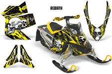 SIKSPAK Sled Wrap Ski Doo Rev XP Summit Snowmobile Graphics Kit 08-12 REBIRTH Y