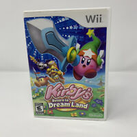 Kirby's Return to Dream Land Nintendo Wii Game Complete With Manual Tested