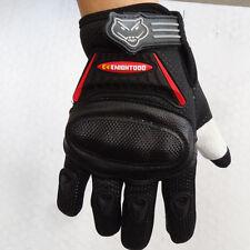Kid Peewee Gloves (Age 4 to 7) BMX ATV Dirt Quad Bike Knight Motocross XL Black