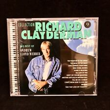 The Best Of Andrew Lloyd Webber CD Richard Clay Derman 1998 Phantom Of The Opera