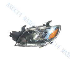 LH front head lamps lights Headlights for Mitsubishi Outlander 2003-2006