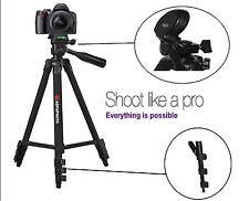 "AGFAPHOTO 50"" Pro Tripod With Case For Fujifilm Finepix SL300 SL305"