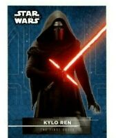 TOPPS STAR WARS SERIES 2 THE FORCE AWAKENS KYLO REN #3 STICKER CARD