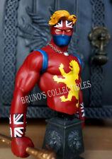 Bowen Designs Captain Britain 70s Version Bust Marvel Statue *Damaged Box!*