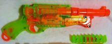 NERF guns modded Barrel Break IX-2 N-Strike with ammo clip