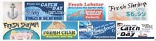 Seafood Cafe, Restaurant, Stores and Shops Water Transfer Decals Set # 4 O Scale