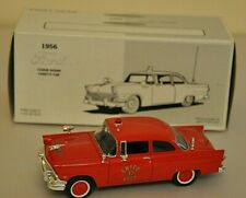 First Gear Collectible 1956 Ford Tudor Sedan Chief's Car 1:34 Scale
