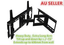 "EXTRA LONG Heavy Duty Tilt TV Wall Mount Bracket LCD PLASMA 701ST3 for 32"" - 55"""