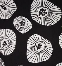 MOIRA BLACK  FABRIC By Ashley Wilde Designs~ 100% Cotton