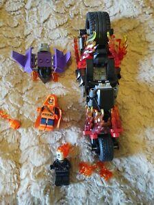 Lego Marvel Ghost Rider and hobgoblin 76058 used