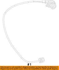 Dodge CHRYSLER OEM 13-16 Dart Rear View-Backup Back Up Camera 56038990AC