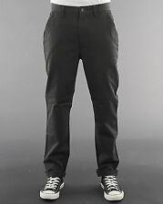 NUOVO TIGER of Sweden Cachi Classic Tapered Leg cotone Piatto Frontale Pantaloni Chino Vita 30