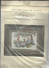 Stoney Creek Collection, Counted Stitch Kit, THE PICNIC, SEALED