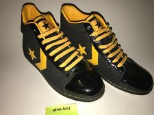 Converse Wade High Top Size 11 Black Yellow Stealers Box 39