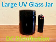 UV Glass Jar Large Perfect for Storing Anything Free Shipping