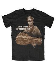 Erwin Rommel M6 T-Shirt Deutsches Afrikakorps Wüstenfuchs Afrika WW2 Deutschland
