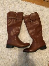 Rampage Boots/ Knee High/ Brown/ Size 8.5