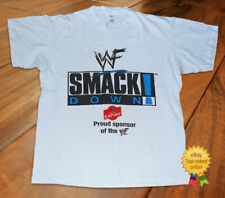 T Shirt Vintage 90s Smackdown Molson Export WWF Wrestling