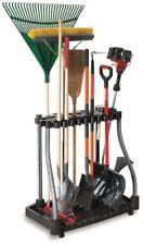 Garden Tower Tool Rack Storage Garage Utility Holder Organizer Casters 40 Tools