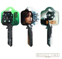 Star Wars Rogue One Official licensed Key Blanks- Jyn Erso - K2S0 - Deathtrooper