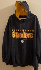 NFL Pittsburgh Steelers Football Jersey Hoodie 4XL Black