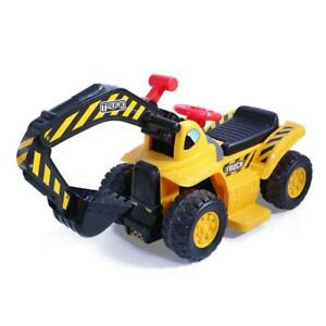 NEW  Kids Electric Ride on Car Digger Excavator