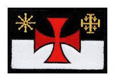 Templar Knight Crusader infidel Flag Morale Hook Patch (MTC1)