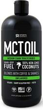 Premium MCT Oil derived only from Coconut Oil - 32oz BPA free bottle