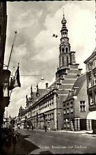 LEIDEN AK Holland Leyden Breestraat Briefkaart Niederlande 50/60er Jahre