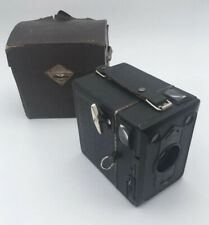 Zeiss Ikon Box Camera Tengor Goerz Frontar DRP and Original Case Circa 1930s