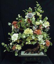 """LARGE 42"""" JADE MIXED BONSAI FLOWER TREE (99-38) - ON FLOOR"""