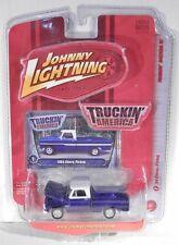 Johnny Lightning '64 Chevrolet Pickup Truck Purple (1964 1965 1966 Body Style)