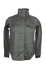 Style /& Co Sport Petite 3//4 Sleeve Snap Front Knit Jacket Black PP #2433