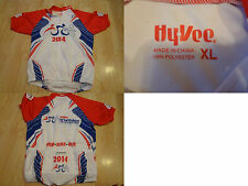 Women's Hyvee XL Yr 2014 Triathlon Biking Cycling Jersey