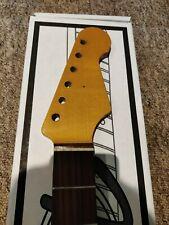MJT Stratocaster Neck Nitro Relic