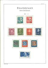 BRD Sammlung 1949-1980 gestempelt komplett im Leuchtturm SF Vordruckalbum