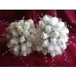 Cake Toppers Wedding Flowers byMary