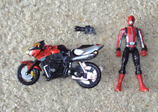 Bandai Go-Busters Power Rangers Beast Morphers Red Ranger Figure & Bike Set