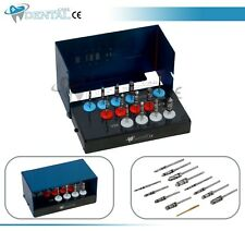 Bur Drills Dental Implant Kit Surgical Parallel Wall Expander hex 13 Pcs