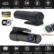 Wifi Hidden Car DVR Video 1080P Vehicle Camera Driving Recorder Dash Cam APP New