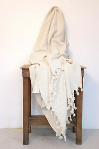 Turkish Blanket 100% Cotton Soft Blanket Throw Chess Blanket Sofa Large Throw