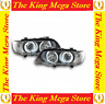 COPPIA FARI ANGEL EYES LED NERI BMW X5 E53 2000/2003