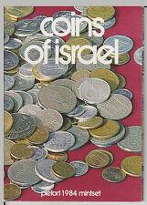 1984 Israel Piedfort Mintset - Coins of Israel