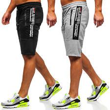 Kurzhose Shorts Sporthose Bermudas Trainings Kurze Print Herren Mix BOLF Motiv