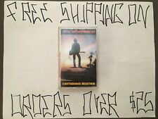 SEALED JOE STRUMMER (OF THE CLASH) EARTHQUAKE WEATHER SOLO DEBUT CASSETTE K