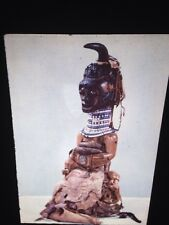 Songe Village Fetish Figure-Zaire African Tribal Art 35mm Slide