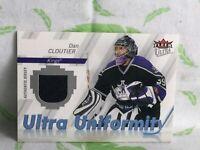 Ultra Fleer NHL Card Ultra Uniformity Dan Cloutier L.A Kings 2007/08 - PI1-3