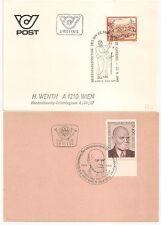 2 COVERS AUTRICHE AUSTRIA L663