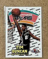 TIM DUNCAN NBA HOOPS ROOKIE RC #166 1998 SKYBOX SPURS HOF
