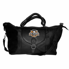 NHL Pittsburgh Penguins Stanley Cup Champs Black Vacquetta Leather Travel Bag